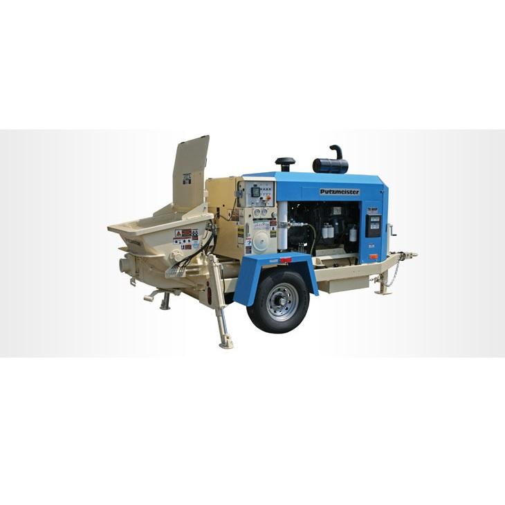 푸츠마이스터 톰캣- 60 HP 트레일러형 콘크리트/숏크리트 펌프