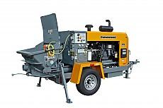 푸츠마이스터 TK-50 트레일러형 콘크리트/숏크리트 펌프